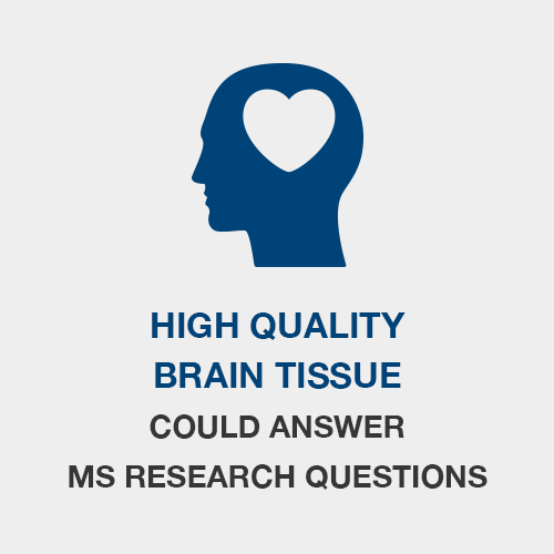 High Quality Brain Tissue Could Answer MS Research Questions