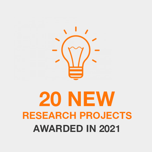 20 New Research Projects Awarded in 2021